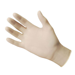 Latex Powder Free Gloves - Box of 100 Gloves - Extra Large