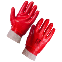 PVC Dipped Gloves(provide resistance to acid, fat,oil