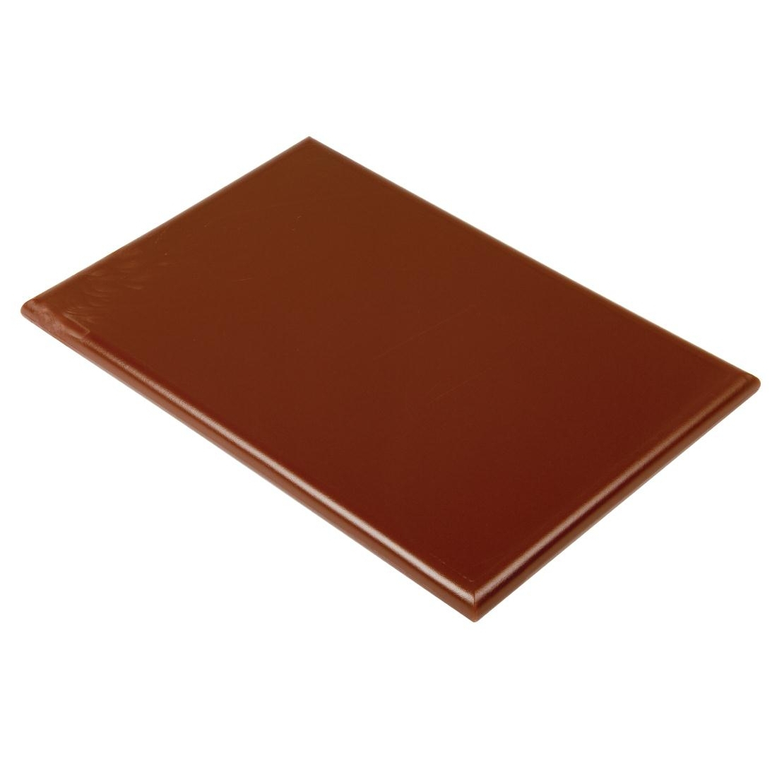 Hygiplas Extra Thick High Density Brown Chopping Board
