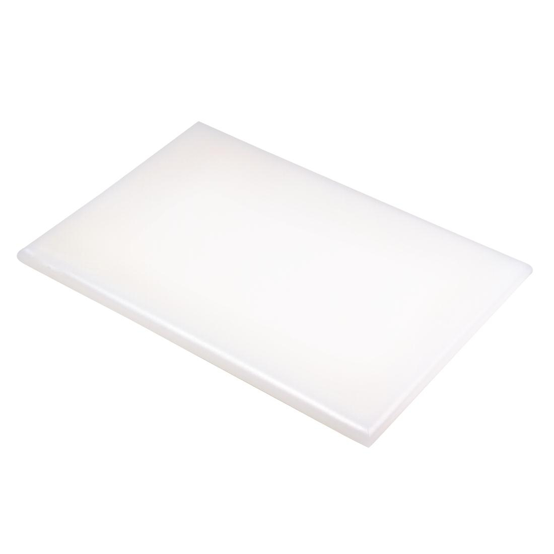 Hygiplas Extra Thick High Density White Chopping Board