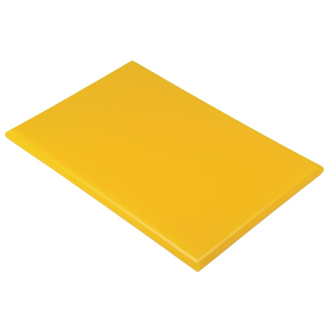 Hygiplas Extra Thick High Density Yellow Chopping Board