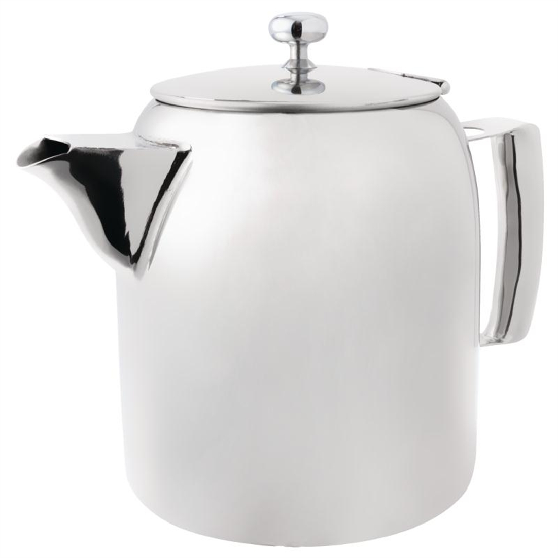 Olympia Cosmos Tea Pot Stainless Steel 20oz