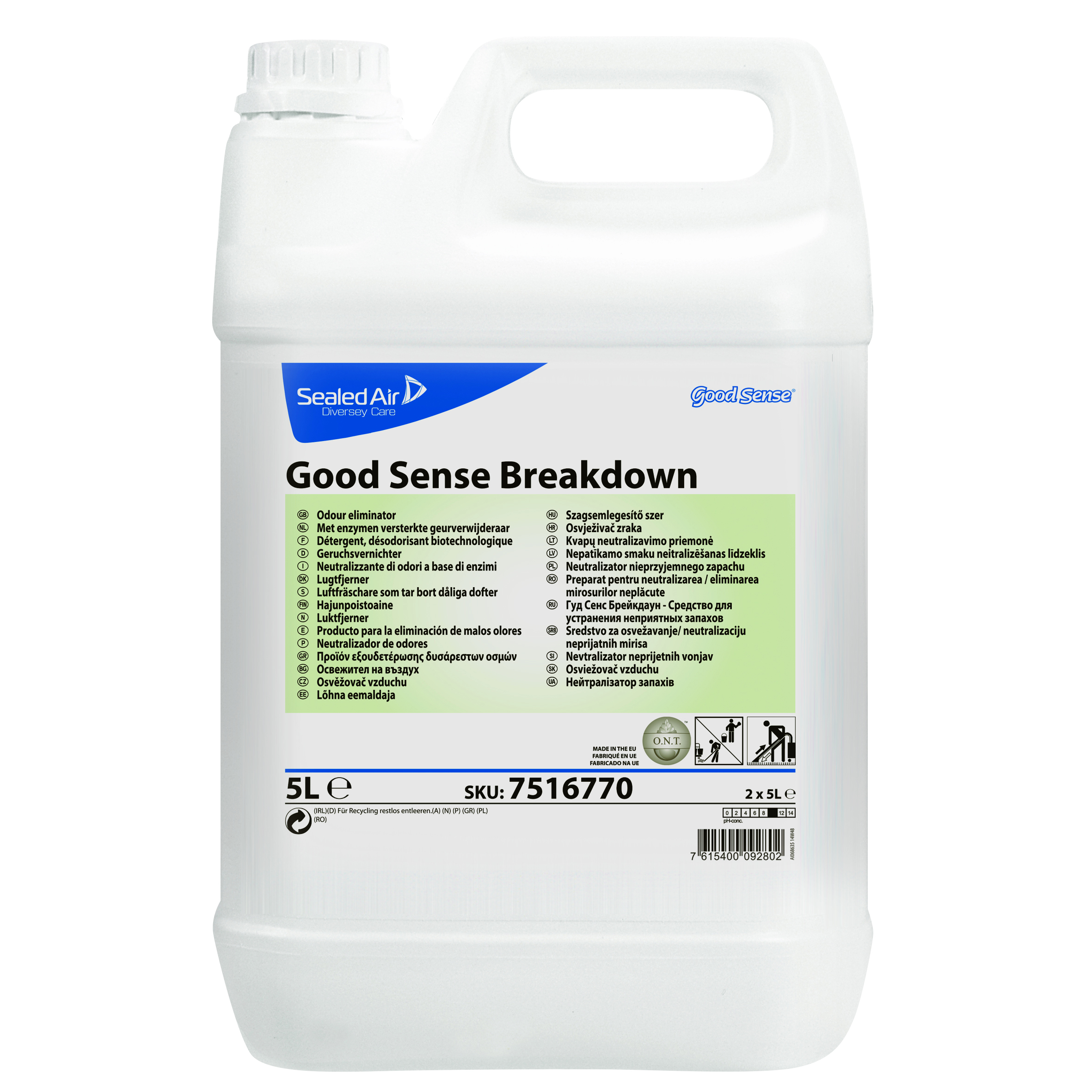 Good Sense Break Down Odour Neutraliser 5L