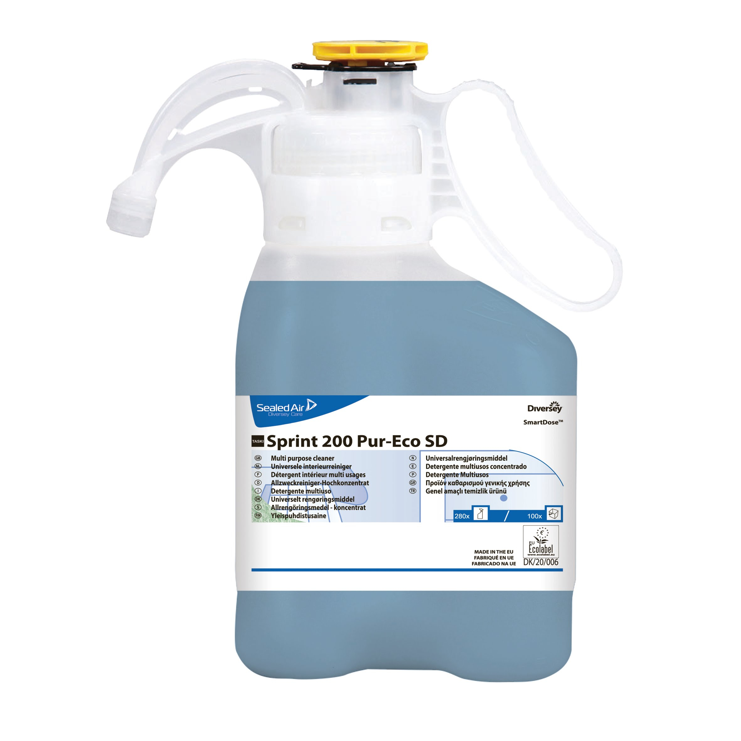 TASKI Sprint 200 Pur-Eco SD Multi Purpose Cleaner - Concentrate - 1.4L