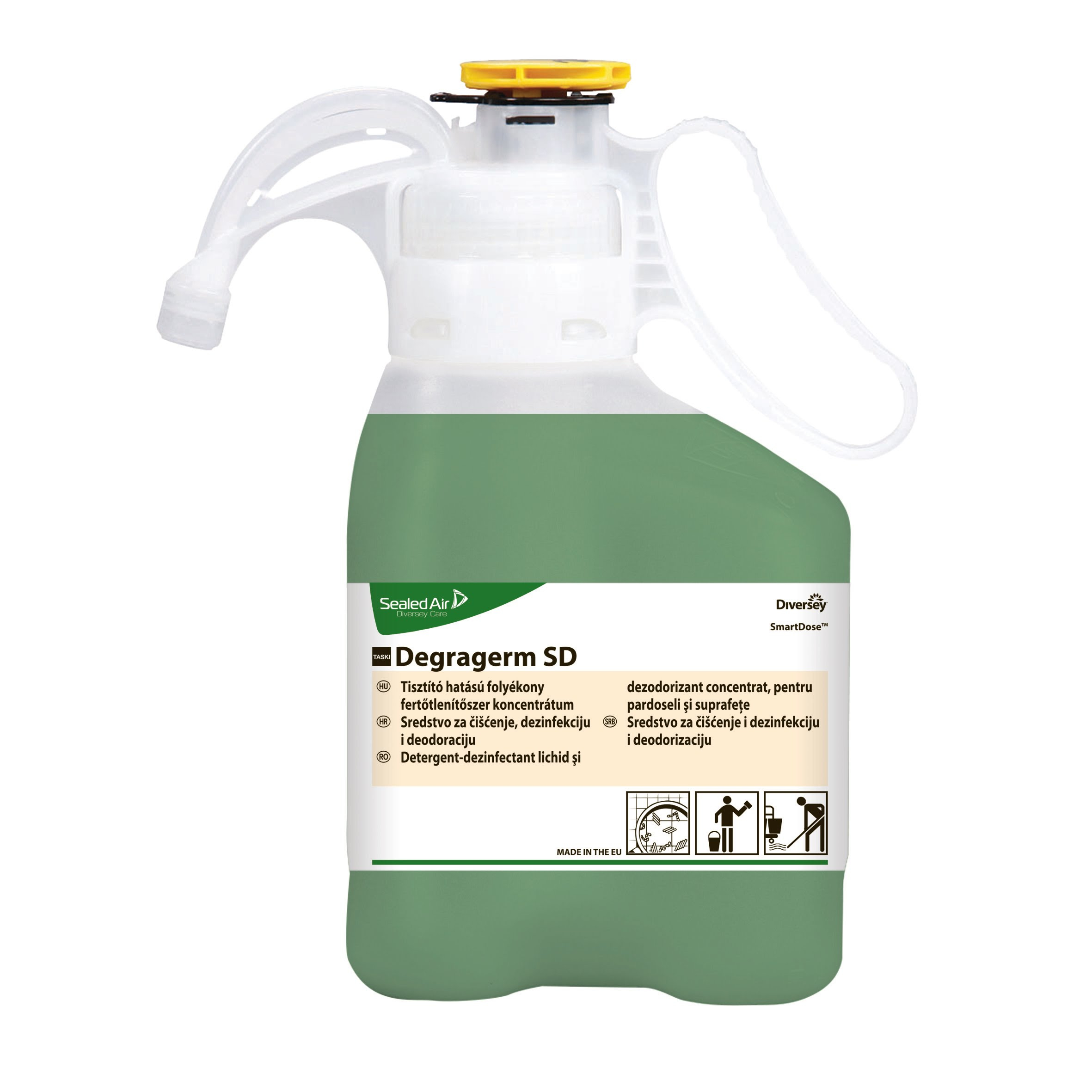 Taski Degragerm Smart Dose Disinfectant - 1.4L