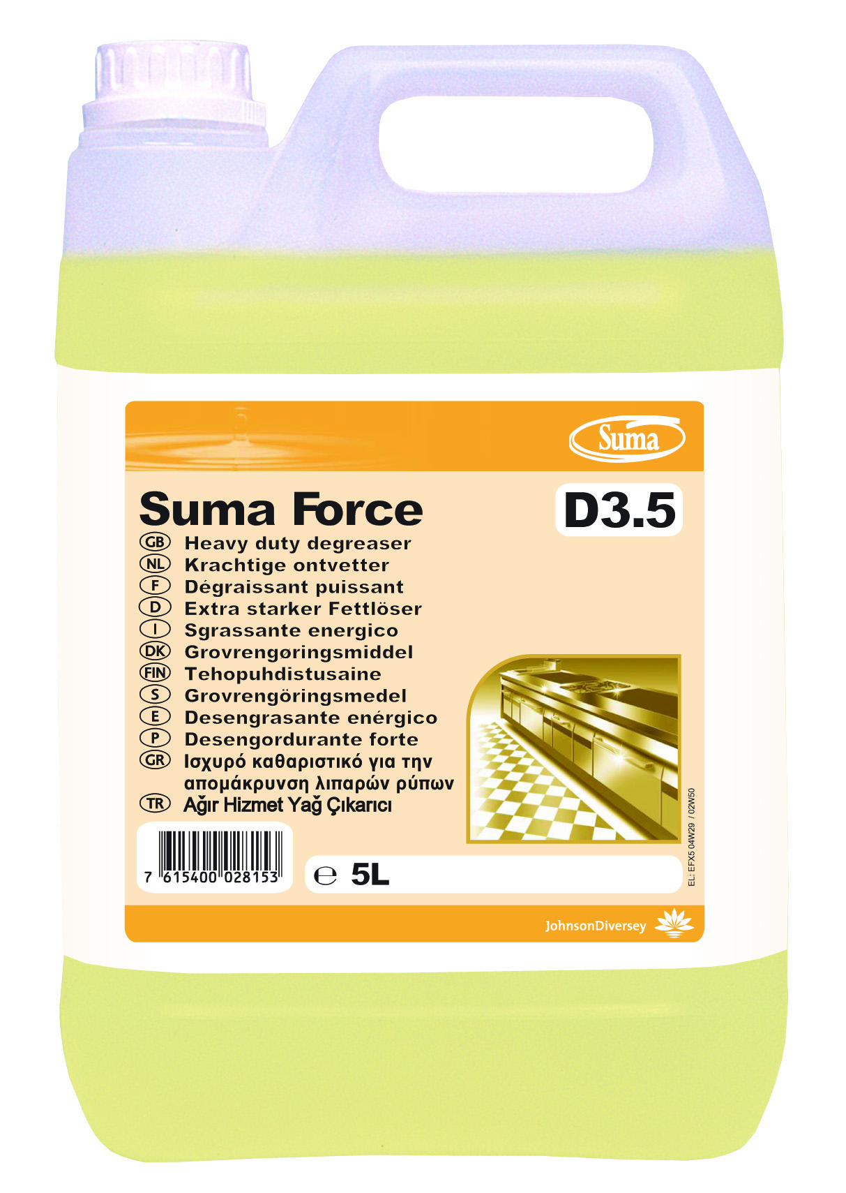 Suma Force D3.5 Degreaser - 2 x 5L