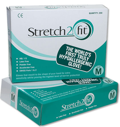 Stretch 2 Fit Gloves - Large x x 200