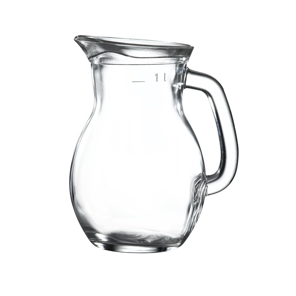 Classic Glass Jug 1L / 35oz Box of 6