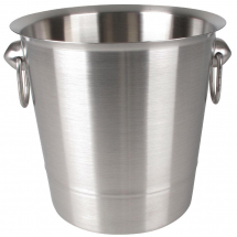 Olympia Brushed Stainless Stee l Wine And Champagne Bucket
