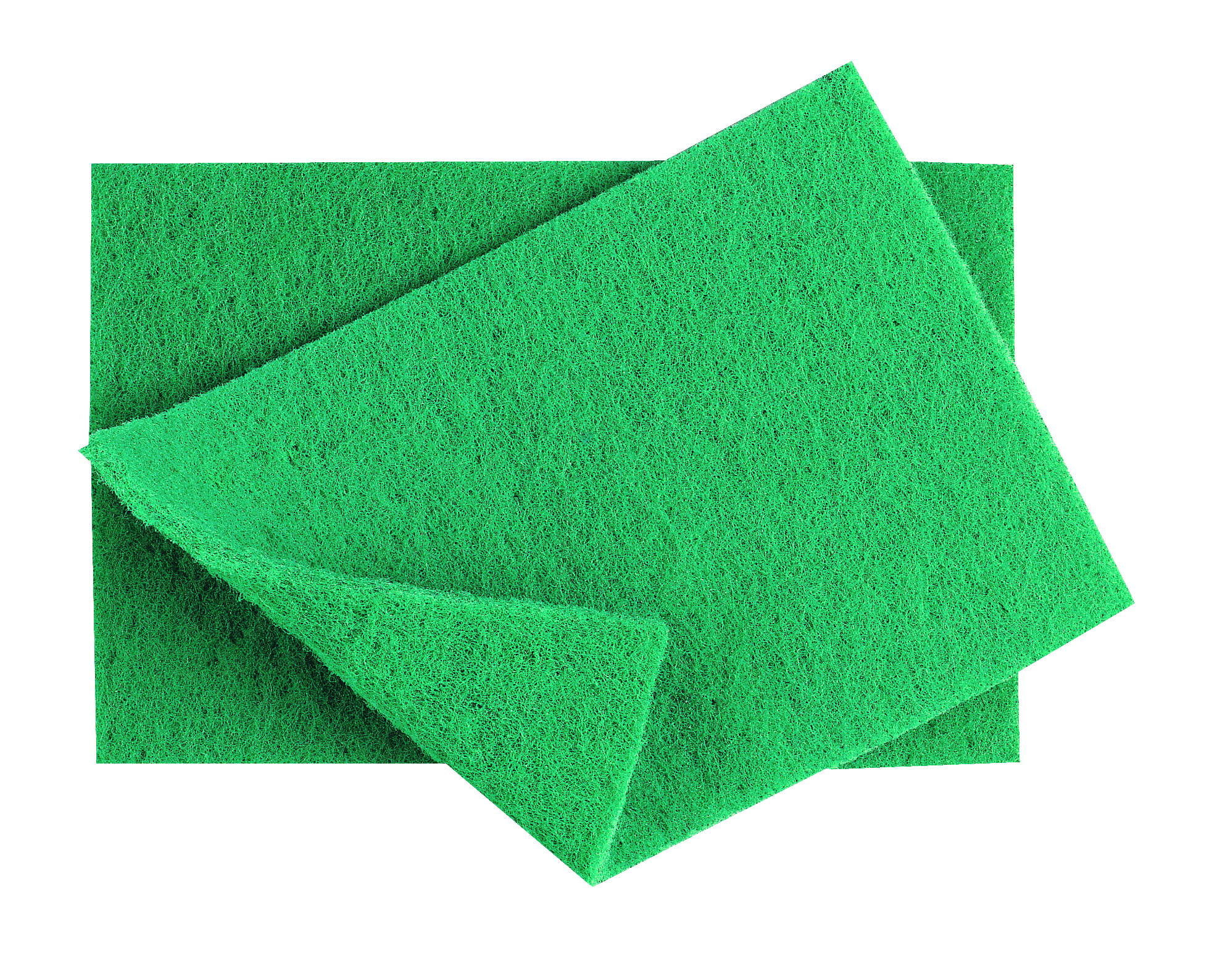 Heavy Duty Green Scourer x 10