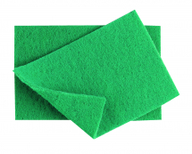 Heavy Duty Green Scourer x10