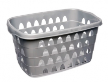Plastic Laundry Basket - Oval
