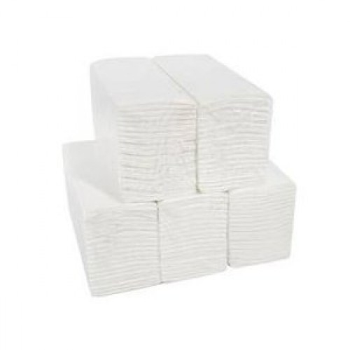 White Deluxe 2 PLY C Fold Hand Towels - 2400 Sheets