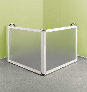 Half Height Portable Shower Screen