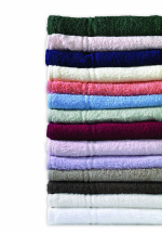 Evolution Knitted Bath Towels - Bottle Green x 6
