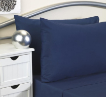 Duvet Cover - Polyester Cotton Navy