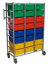 Three Tier Karri-Kart 24 Trays