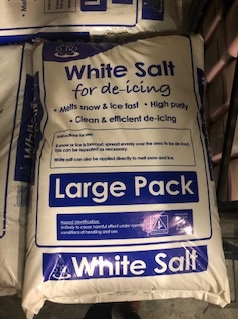 White Gritting Salt - 25KG
