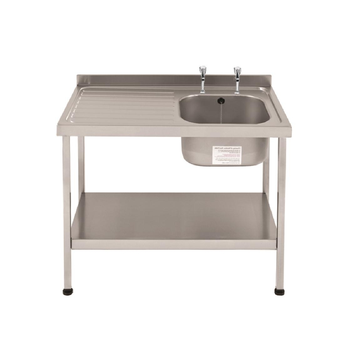 Franke Sissons Self Assembly Stainless Steel Sink Right Hand Bowl 1000x600mm
