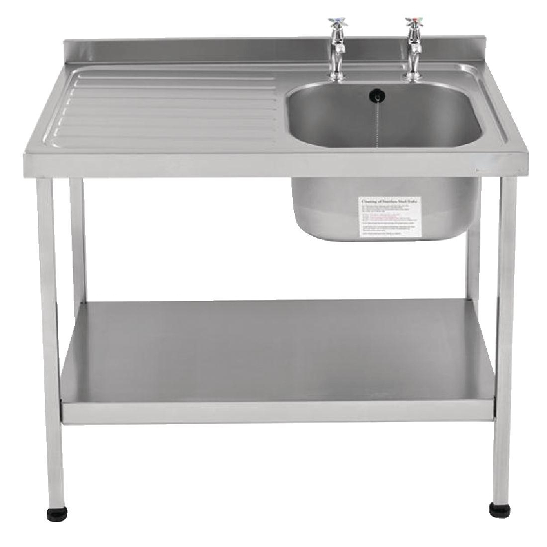 Franke Sissons Self Assembly Stainless Steel Sink Right Hand Bowl 1200x600mm