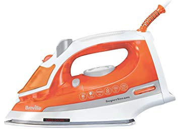 Breville 2200W Power SteamIron Ceramic Finish Soleplate