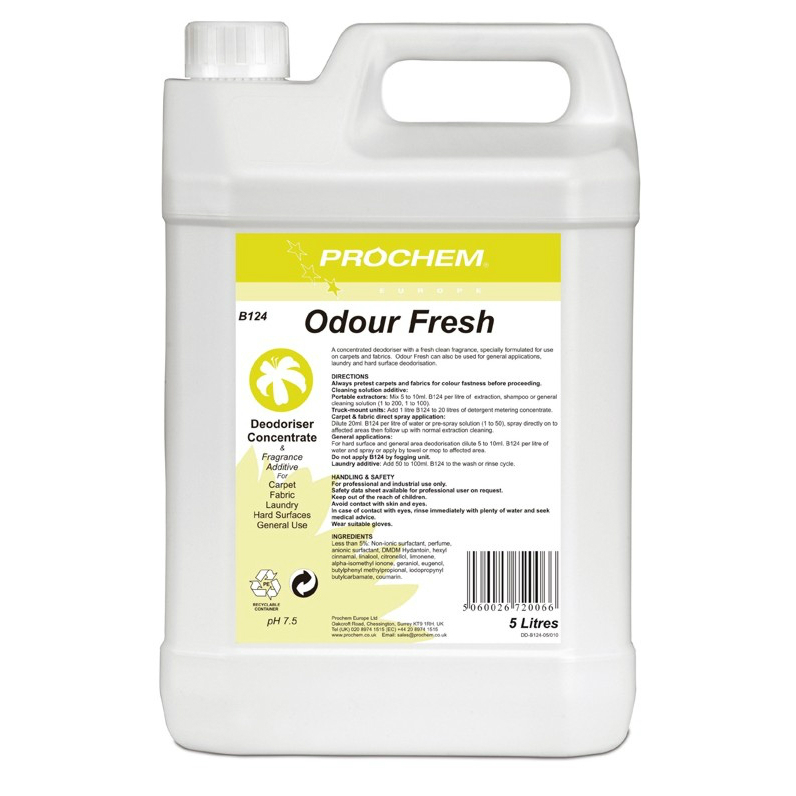 Odour Fresh Concentrated Deodoriser - 5 Litres