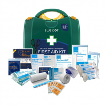 HSE Medium First Aid Kit Includes integrated bracket