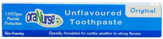 Adult Unflavoured Original Non-Foaming Toothpaste(box 12)