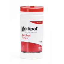 Medipal Alcohol Hard Surface Wipes - 10 tubs of 200