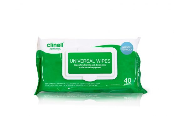 Clinell Sanitising Wipe x 24 p packs per case