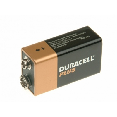 Duracell 9V Batteries x 8