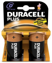 Duracell Plus D Batteries - 12 per Pack