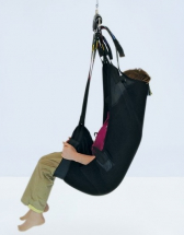 Longseat Sling c/w Head Suppor rt Medium loops on D-Rings