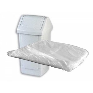 Medium Duty Swing Bin Liners x 500