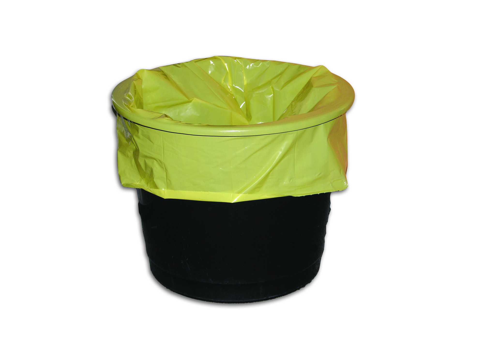 Medium Duty Yellow Pedal Bin Liners x 1000