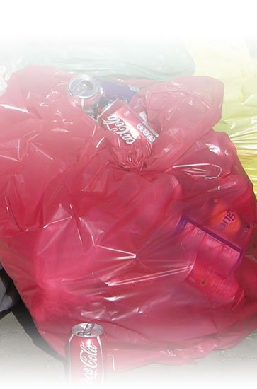 Red Waste Bags x 200 case
