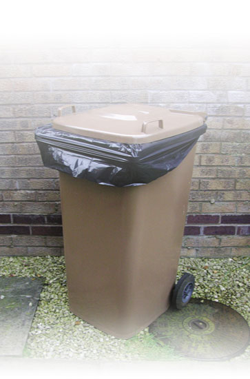 Wheelie Bin Sacks 30x46x56 inch - 50 per case