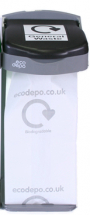 Bio-degradable Sacks Clearx200 600mm x 1060mm (24inch x 43inch)