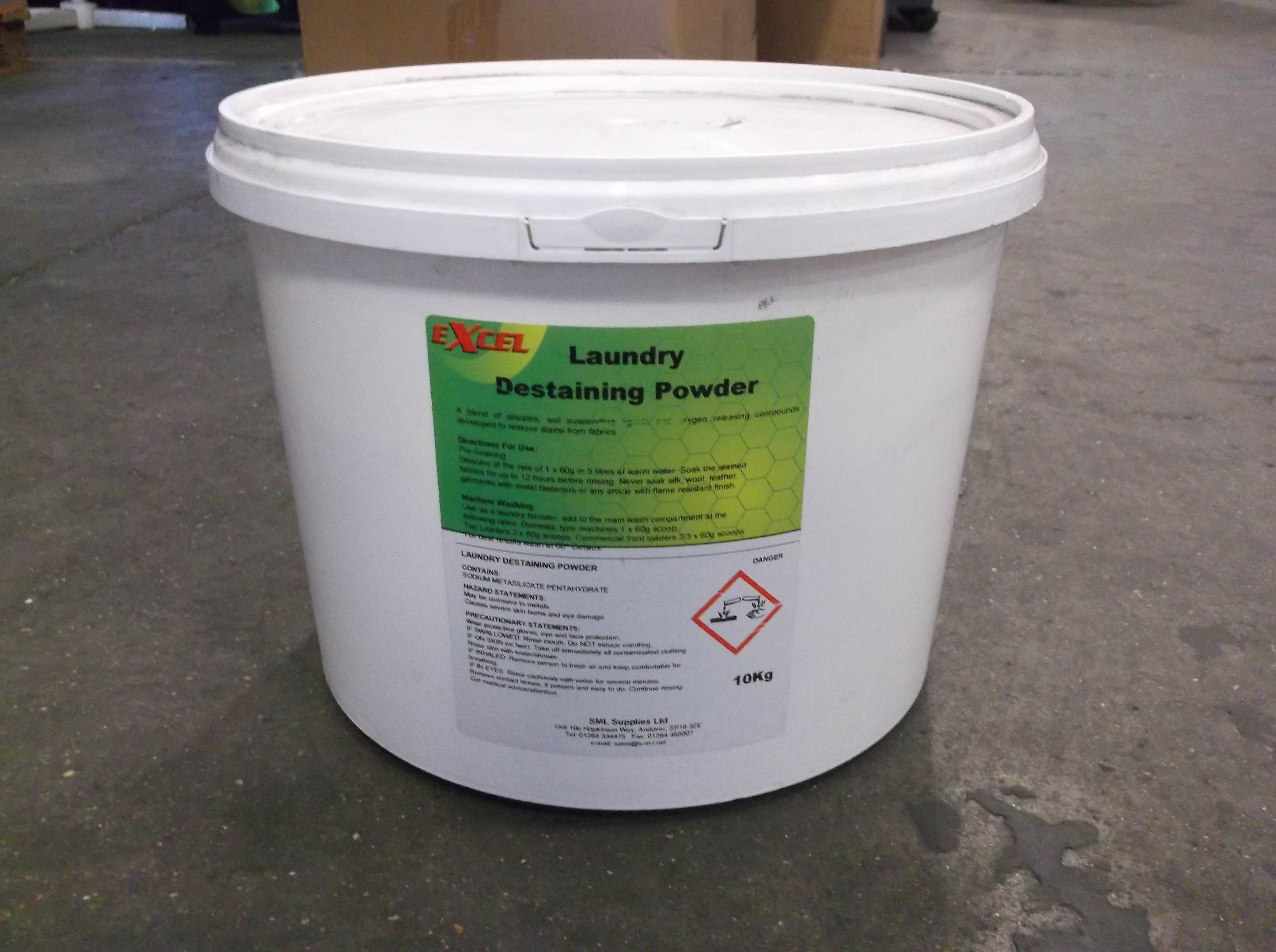 Excel Laundry Destaining Powder - 10kg