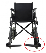 Replacement Left Footrest for Transit Wheelchair