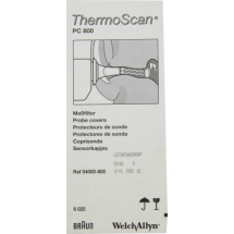 Probe Covers -Braun Ear Therm x 200 - pro6000 suitable