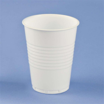 Plastic 7oz Cups Non-Vending White - Pack of 2000
