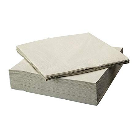 Two Ply Napkins Cream 33 x 33cmcm = 4 x 250 - Katrin