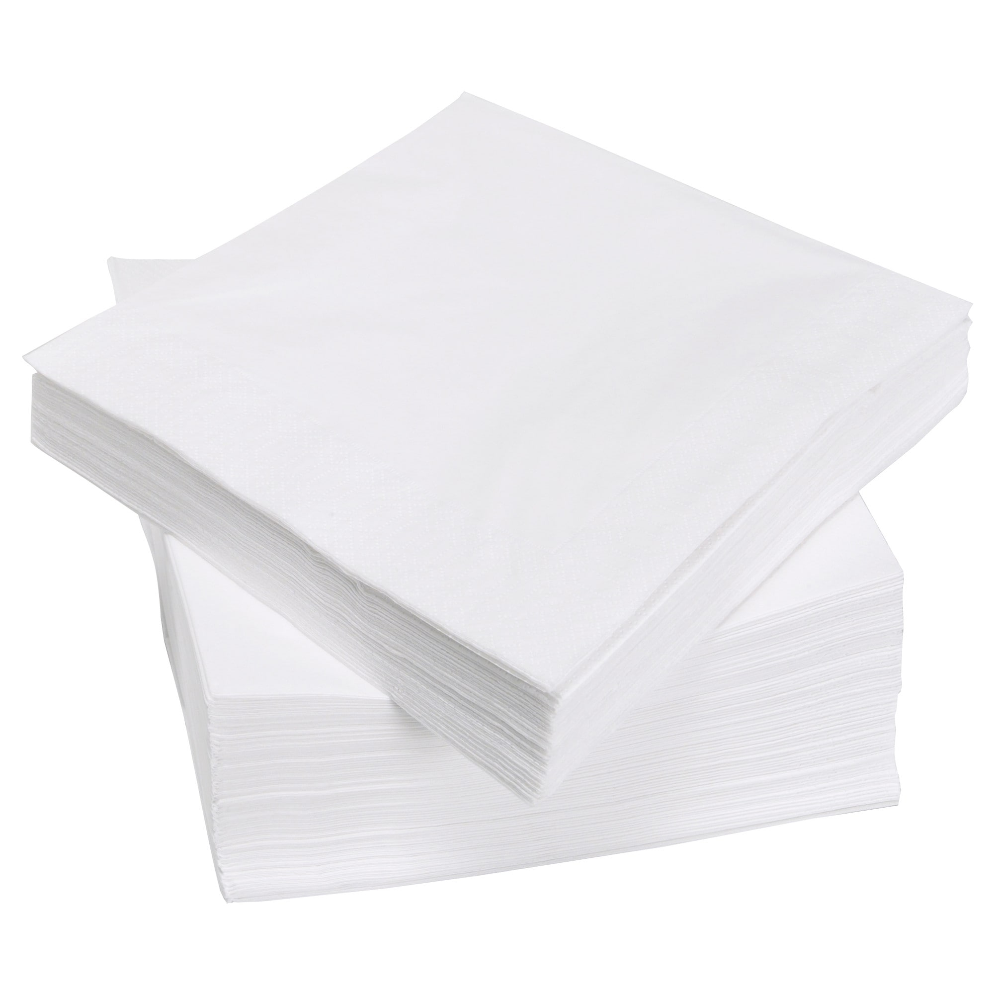 2 Ply White Napkins x 2000