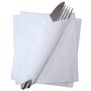 Napkins-White-1 Ply x 5000
