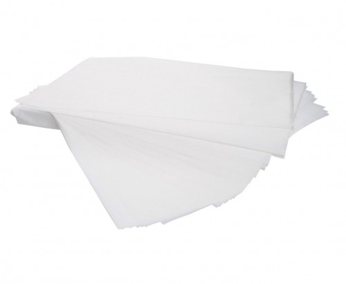 Silicone Greaseproof Bleached White Paper Sheets, 39gsm