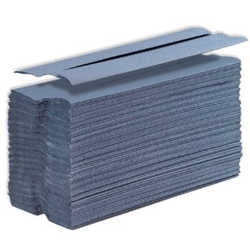 Blue C-Fold Hand Towels - 2624 Sheets