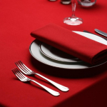 Signature Plus Tablecloth Red - 132cm - square