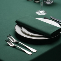 Signature Plus Forest Green Slip Cloth - 90x90cm
