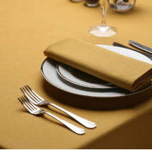Signature Plus Mustard Gold Slip Cloth - 90x90cm